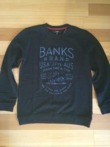 BANKSスエットシャツ