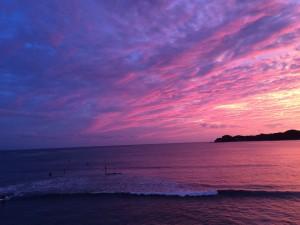 マリブの夕日