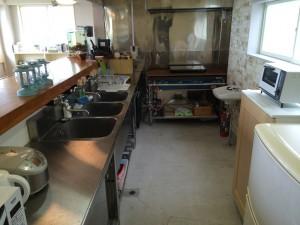 宿泊キッチン